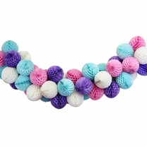 Unicorn Honeycomb Ball Decorating Kit
