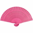 Watermelon 8inch Sandalwood Hand Fan