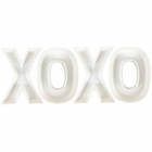 XOXO Ceramic Letter Dish Decorating Kit