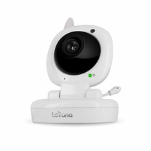 Additional Night Vision Camera for Levana Jena, Sophia, Ayden, Video Baby Monitor with Invisible LEDs Temperature Monitoring, Talk to Baby Two-way Intercom and Zoom