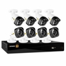 Defender® HD 1080p 8 Channel 1TB Digital Video Recording Security System and 8 Long Range Night Vision Bullet Cameras with Web and Mobile Viewing