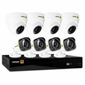 Defender® HD 1080p 8 Channel 1TB DVR Security System and 4 Dome and 4 Bullet Long Range Night Vision Cameras with Mobile Viewing