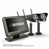 """Defender® PHOENIXM2 Digital Wireless 7"""" Monitor DVR Security System with 2 Long Range Night Vision Cameras and SD Card Recording"""