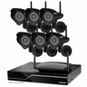 Defender® Sentinel™  Wireless 8 CH 1TB DVR with 6 Wireless 520TVL Cameras with 75ft Night Vision (21311)