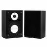 Fluance High Performance Two-way Bookshelf Surround Sound Speakers - Black Ash (XL7S)