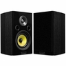 Fluance Signature Series HiFi Two-way Bookshelf Surround Sound Speakers for Home Theater and Music Systems - Onyx Black (HFS)