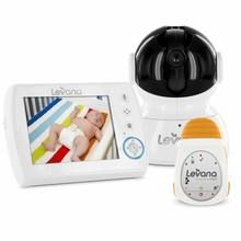 LEVANA Astra™ Digital Baby Video Monitor with LEVANA Powered by Snuza® Oma™ Portable Baby Movement Monitor System-32044