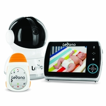 LEVANA Keera™ Digital Baby Video Monitor with LEVANA Powered by Snuza® Oma™ Portable Baby Movement Monitor System-32046