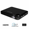 "Magnasonic LED Pocket Pico Video Projector, HDMI, Rechargeable Battery, Built-in Speaker, DLP, 60"" Hi-Resolution Display for Streaming Movies, Presentations, Smartphones, Tablets, Laptops (PP60)"