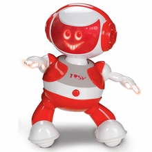 TOSY Robotics DiscoRobo Toy with Voice-Red<!--TDV102RED-->