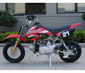 Apollo/ Orion 70cc Pit/Dirt Bike. Youth Model. California Legal - Free Training Wheels - Semi Automatic Transmission -