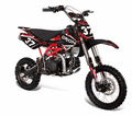 Apollo/Orion Ultra-Elite 125cc Pit / Dirt Motorcycle. -With Twin-Spar Tubular Frame (Compare to Honda) -