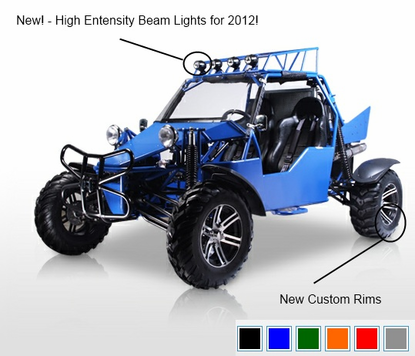 BMS POWER BUGGY 1100cc 2 SEATER with FAST SHIPPING!