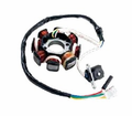 Chinese Parts - 125 / 150Cc 8-Coil Magneto / Stator from Atv-Quads-4Wheeler.com