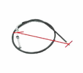 Chinese Parts - B1 Style 48� Brake Cables With In Line Adjuster from Atv-Quads-4Wheeler.com