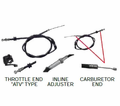 Chinese Parts - T3 Atv Style 34� Throttle Cables from Atv-Quads-4Wheeler.com