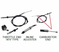 Chinese Parts - T3 Atv Style 47� Throttle Cables from Atv-Quads-4Wheeler.com
