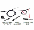 Chinese Parts - T3 Atv Style T3-270 Throttle Cables from Atv-Quads-4Wheeler.com