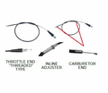 Chinese Parts - T4 Style 43.5-44.5� Throttle Cables from Atv-Quads-4Wheeler.com
