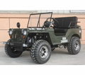 Jeep Willys Series 1 Basic Model Off-Road 125cc Go-Kart - Calif Legal