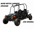 Jet Moto GK200 Fully Automatic - 4 Seater Kids Size Go Kart - OUT OF STOCK
