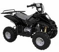 Jet Moto Series Ranger R1 Youth 110cc ATV Solid and Spider Colors - With Rear Rack -