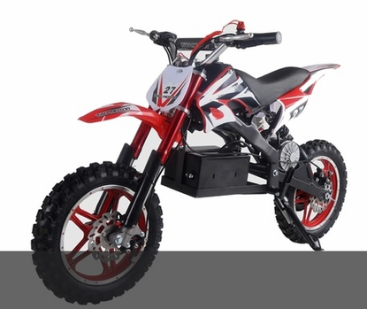 Kicker Elite Electric Dirt Bike Speeds To 15mph