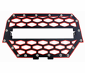 Modquad - Utv Accessories - Polaris RZR 1000 XP front Grills in Black/Red - Lowest Price Guaranteed!