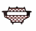 Modquad - Utv Accessories - Polaris RZR 900 XP Front Grills in Black/Red - Lowest Price Guaranteed! Free Shipping!