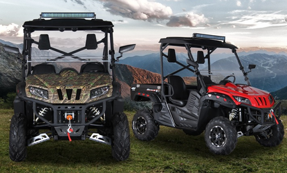 BMS 700cc Ranch Pony EFI UTV Side by Side - 877-667-6289