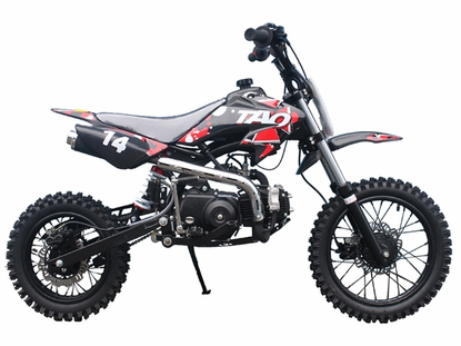 "Jet Moto XR14 - 110cc Deluxe - Dirt / Pit Bike - Honda Style Semi-Auto Trans - Upgraded Suspension - Larger 14"" Front Tire"
