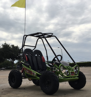 Trailmaster NEW Ultra Mini XRX/R+ with Reverse - Wider Seats & Frame, Much Taller Roll Cage, Bigger Tires! Free Shipping!