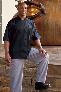 Aruba Short Sleeve Chef Coat