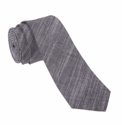 Crosshatch Textured Necktie