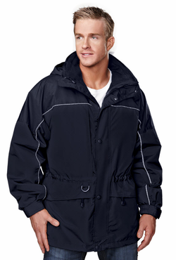 Extreme Winter Three-in-One Reflective Valet Jacket