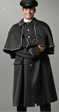 Great Coat with Cape (Custom Coat may NOT be returned or exchanged)