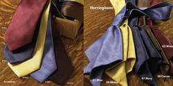 Herringbone Tie and Ladies Neckerchief