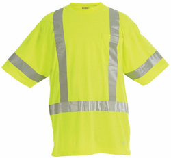 Hi-Visibility Short Sleeve Pocket Shirt