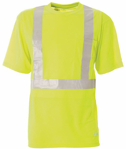Hi-Visibility Short Sleeve Pocket Tee