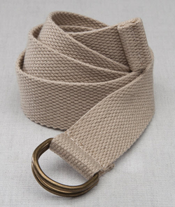 Hotel D-Ring Web Belt (Discontinued may NOT be returned or exchanged)