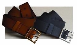 Hotel Rugged Leather Garrison Belt