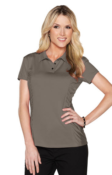 Ladies Cocktail Jersey Knit Polo Blouse Ladies Cocktail Jersey Knit Polo  Blouse ... 0a949f550d