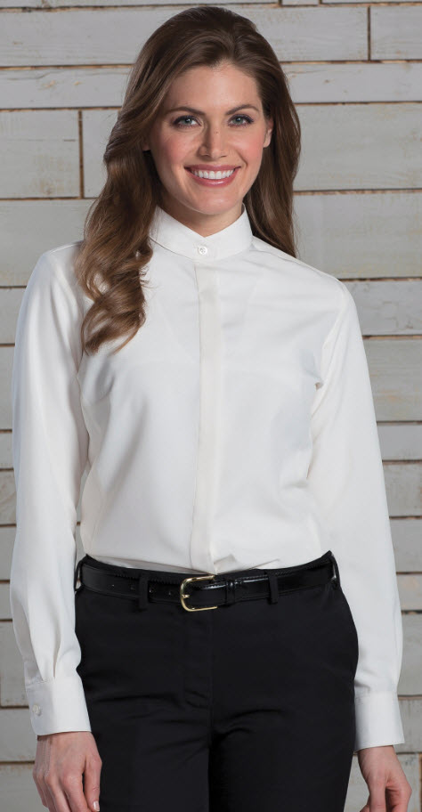 Ladies Extreme Restaurant Banded Collar Shirt