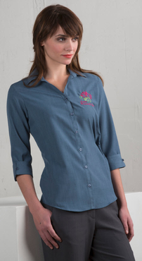 Ladies Extreme Restaurant Three Quarter Sleeve Blouse