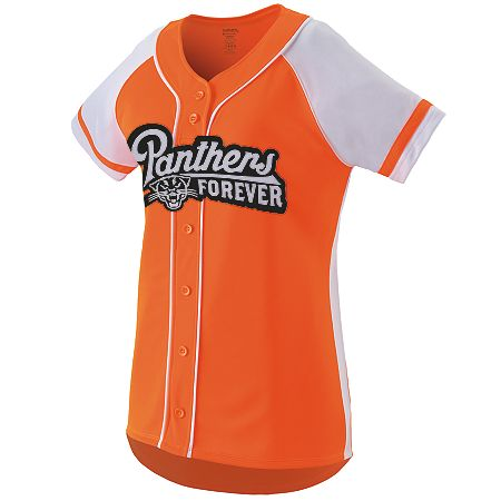 9e674321b Ladies Softball Full Button Jersey - SharperUniforms.com
