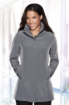 Ladies Hotel Hooded Trench Coat