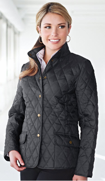 Ladies Hotel Quilted Jacket (Discontinued may NOT be returned or exchanged)