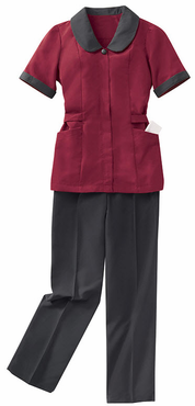 Ladies Microfiber Housekeeping Pull-On Pant