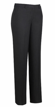 Ladies Resort Hotel Washable Flat Front Pant with Belt Loops