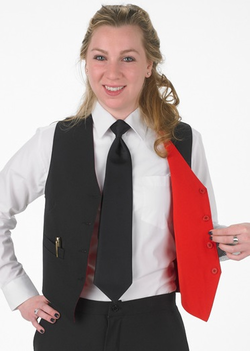 Ladies Restaurant Reversible Vest